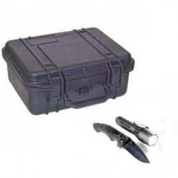 Exclusively from Transcat - Pelican Case & FREE Knife/Lite Combo