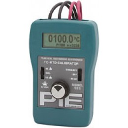 PIE 525 TC and RTD Dual Calibrator with Auto Stepping