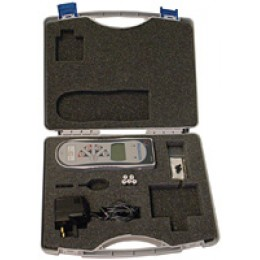 Mecmesin AFTI Carrying Case Replacement protective case for AFTI force and torque indicator, plastic with foam insert