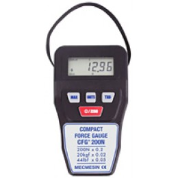 Mecmesin CFG+ Compact Force Gauge Handheld digital force gauge up to 112lbf capacity, can be fixed to a test stand