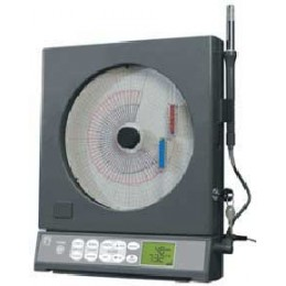 Chart Recorder Dual Process Current, Gray