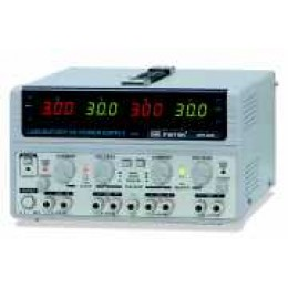 DC Power Supply, 30V/3A, 2 Channel