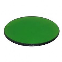 Meiji  MA857/05 Green filter,clear,40.0mm diameter, unmounted
