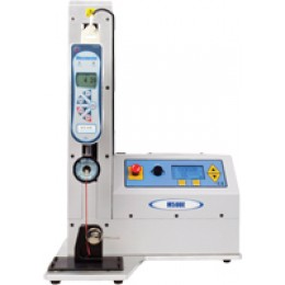 Mecmesin M500E Motorized Test Stand Rated to 500 N in tension and compression, single or continuous cycle operation, digital display