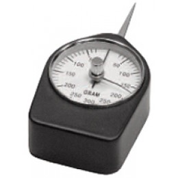Mecmesin Gram Force Gauge Tension and compression force gauge ranges from 1 to 1000gf, clockwise and counter-clockwise action
