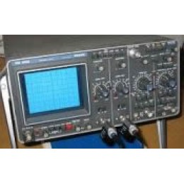 PHILLIPS PM3266 OSCILLOSCOPE, STRG., 100 MHZ, 2 CH., 1 HR. STRG.