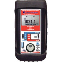 PIE 211 Automated RTD Calibrator Check and calibrate all RTD instruments and measure RTD sensors