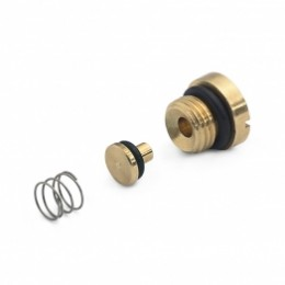 HP, XH inlet check-valve, spring and plug, brass