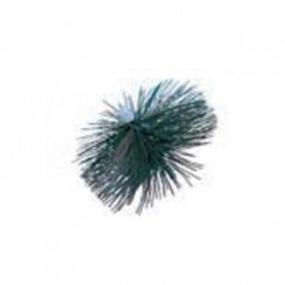 Wohler 8644 2.5 inch PEK Star Mini Chimney Cleaning Brush.