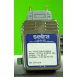 Setra 269-OR5WD-11-D-D-V-N Very Low Differential Pressure Transducer 0.5