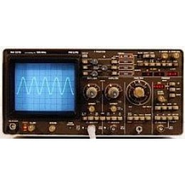 PHILLIPS PM3315/3V OSCILLOSCOPE, DIG. STRG., 60 MHZ, 125 MS/S, OPT. 3V