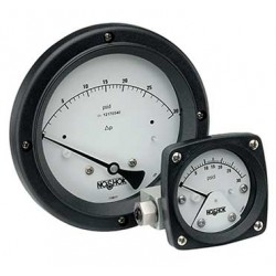 Noshok 45-1002-P100-A3A-1 Piston Type Differential Pressure Gauge