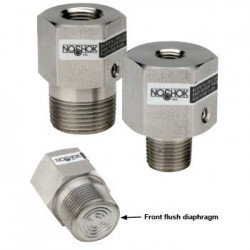Noshok 20-02S-S-04-GY Front Flush,With GLYCERINE Fill Non-Replaceable Diaphragm Seals