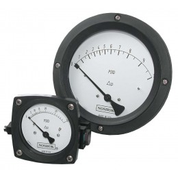 Noshok 1000 Series Piston Differential Pressure Gauges