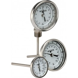 NOSHOK 100 Series Industrial Bimetal Thermometers