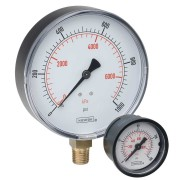 """Bottom Connection 2.5"""" ABS DRY Case Gauge 25-100 SERIES"""