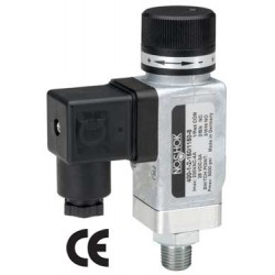 Noshok 400-1-10-7/115-2 heavy duty Mechanical Block Switch G1/4 B Male Conn M12 X 1 (4-Pin)