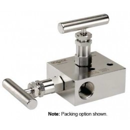 NOSHOK 2100 Series 2-Valve Block & Bleed Soft seat Manifold Valves