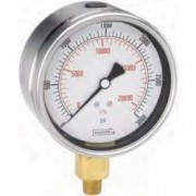 Bottom Connection 2.5 Stainless Steel Case Dry Gauge-900 series