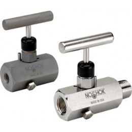 Noshok 600 Series Block & Bleed Hard Seat Needle Valves-8 Types-100% helium leak tested to 1 x 10-4 ml/s for guaranteed performance and reliability