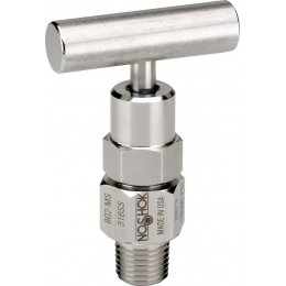 Noshok 804-MC 1/2 NPT, Male, Steel, Hard Seat Bleed Valve