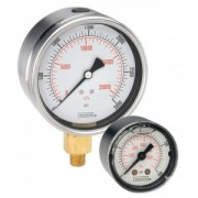 """Back Connection 1.5"""" Dry 1/8 npt all Stainless Steel Gauge-15-411 SERIES"""