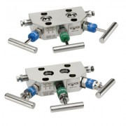 3040 Series 3-Valve Differential Pressure Manifold Valves, Compact Style Hard Seat
