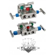 Natural Gas flow Manifold Valves