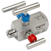 3-Valve Double Block & Bleed, Hard Seat Needle Valves-3070 series