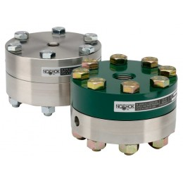Noshok 10L-02C-S-B-02PP Reduced Pressure, Non-Metallic Lower, Bolted, Replaceable Diaphragm Seal