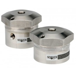 Noshok 29-02M-M-02M High Volumetric Displacement, Non-Replaceable Diaphragm Seals