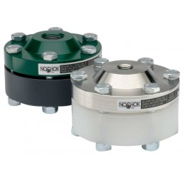 Noshok 30L-02S-H-T-04KN Diaphragm Seal 200 psi Max Reduced Pressure, Non-Metallic Lower, Bolted, Non-Replaceable Diaphragm Seals