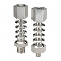 """Noshok 1/2"""" NPT x 1/2"""" NPT-ce Cooling-Element Stainless Steel Cooling Element"""