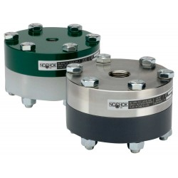Noshok Type 10L Reduced Pressure, Non-Metallic Lower, Bolted, Replaceable Diaphragm Seals
