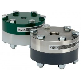 Type 10L Reduced Pressure, Non-Metallic Lower, Bolted,200 PSI Replaceable Diaphragm Seals-Noshok