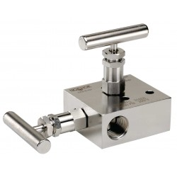 Noshok 2000/2100 Series 2-Valve Block & Bleed Manifold Valves /Static pressure & Liquid level