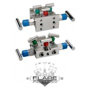 "5530 Series 5-Valve Natural Gas Manifold Valves, Soft Seat/Tip (0.375"" Orif"