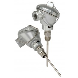 Noshok 910--50/750-1-C-4-1U-2-23-S1-025-2 Industrial RTD, Probe Type with Connection Head