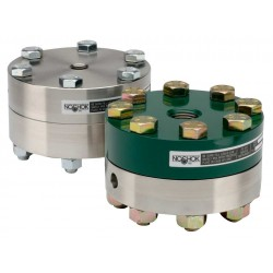 Noshok type 10H Standard & Elevated Pressure, Bolted, Replaceable Diaphragm Seals
